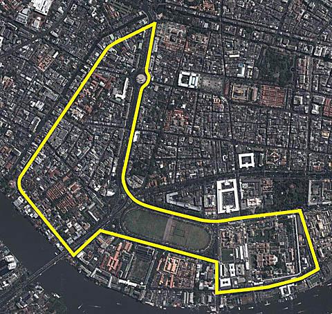 F1 Bangkok Ufficializza Il Disegno Del Tracciato Thailandese