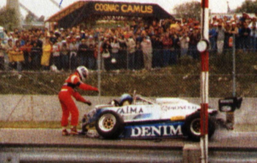 F1 in ricordo di riccardo paletti for Incidente gilles villeneuve