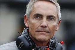 Martin Whitmarsh in the pit lane