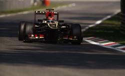 Autodromo Nazionale di Monza, Monza, Italy.6th September 2013.Kimi Raikkonen, Lotus E21 Renault.World Copyright: Steven Tee/LAT Photographic.ref: Digital Image _14P0561