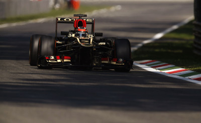 Autodromo Nazionale di Monza, Monza, Italy.6th September 2013.Kimi Raikkonen, Lotus E21 Renault.World Copyright: Steven Tee/LAT Photographic.ref: Digital Image _14P0561
