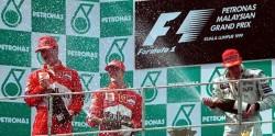 Sepang 1999 podium