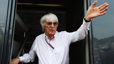 Ecclestone out
