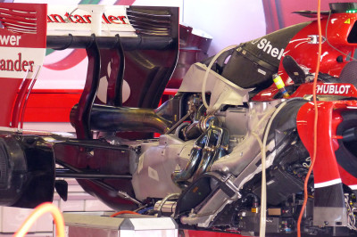Scarico Ferrari Barcellona