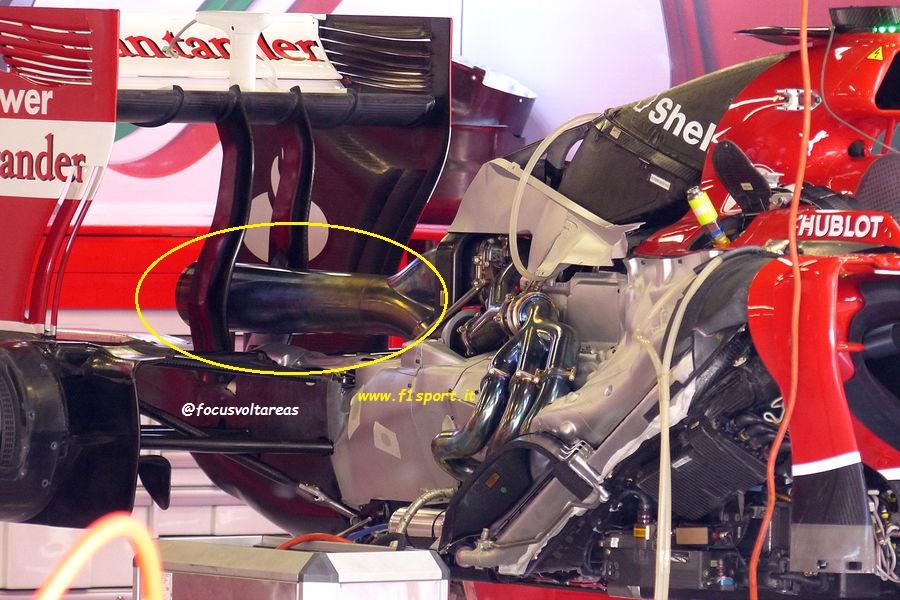 Sezione scarico Ferrari