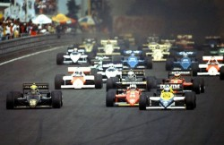 Nurburgring 1985 start
