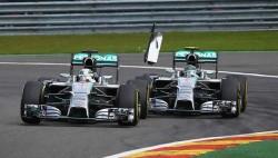 Rosberg Hamilton spa