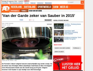 Van-Der-Garde-Sauber-2014