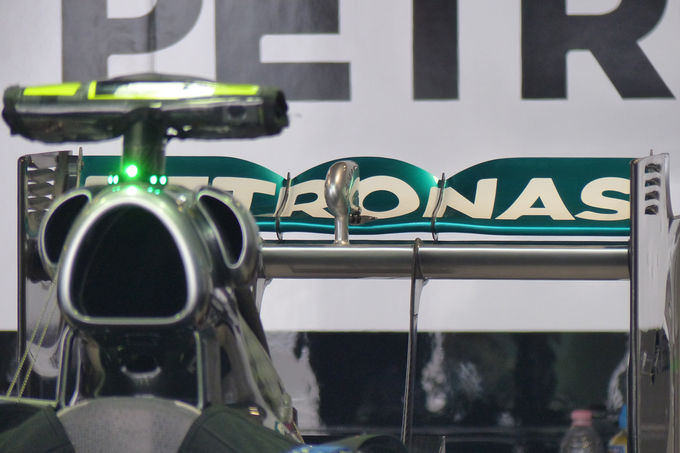 Mercedes Rear