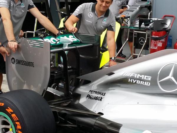 Mercedes rear monza