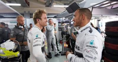 Mercedes Hamilton Rosberg Brasile