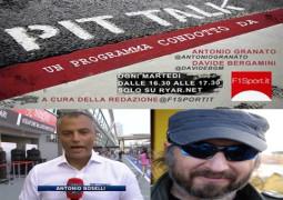 F1 A PitTalk Antonio Boselli e Maurizio Voltini
