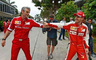Vettel-Arrivabene
