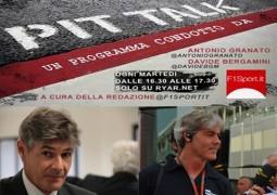 F1 PitTalk ospiti Guido Schittone e Franco Bortuzzo