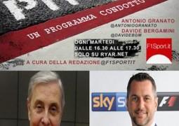 F1 a PitTalk Mario Poltronieri e Carlo Vanzini