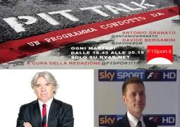 F1 A Pit-Talk Ivan Zazzaroni e Fabiano Vandone