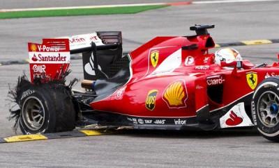 Spa Belgio Pirelli Vettel 2015