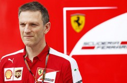 Sepang International Circuit, Sepang, Kuala Lumpur, Malaysia. Friday 27 March 2015. James Allison, Technical Director, Ferrari. World Copyright: Alastair Staley/LAT Photographic. ref: Digital Image _R6T4299