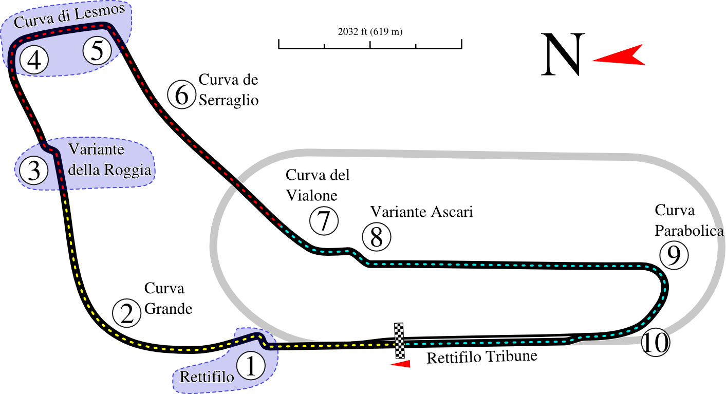 Monza_track_map