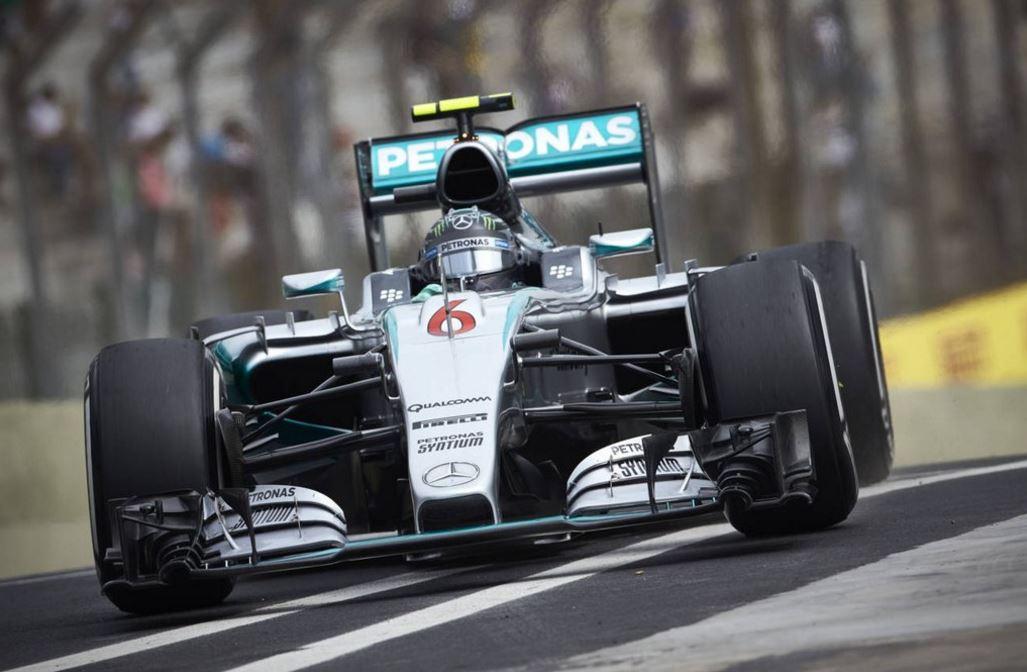 F1 Rosberg Domina In Brasile Ferrari Sul Podio