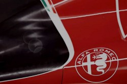 AA - Marchio Alfa su Ferrari SF15T