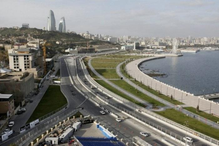 F1 Ecco Il Baku City Circuit