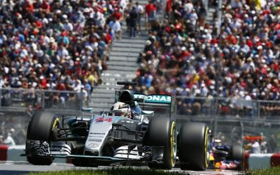 Formula One - F1 - Canadian Grand Prix 2015 - Circuit Gilles Villeneuve, Montreal, Canada - 6/6/15 Mercedes' Lewis Hamilton during qualifying Mandatory Credit: Action Images / Hoch Zwei Livepic EDITORIAL USE ONLY. *** Local Caption *** +++ www.hoch-zwei.net +++ copyright: HOCH ZWEI +++