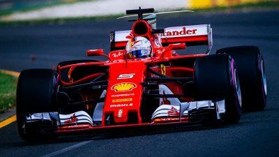 F1, trionfo Ferrari al Gp d'Australia, Vettel al primo posto