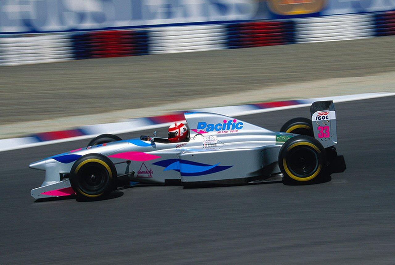 F1 le monoposto ed il colore rosa nell 39 arco di 40 anni for Pacific grand