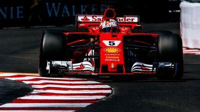 F1 Monaco: Vettel vincente a 1,75, Hamilton lontano a 33,00