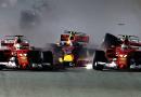 Singapore: le Ferrari di Vettel e Raikkonen fuori alla partenza