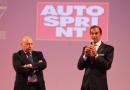 Emanuele Pirro premiato con il Casco d'Oro Legend di Autosprint