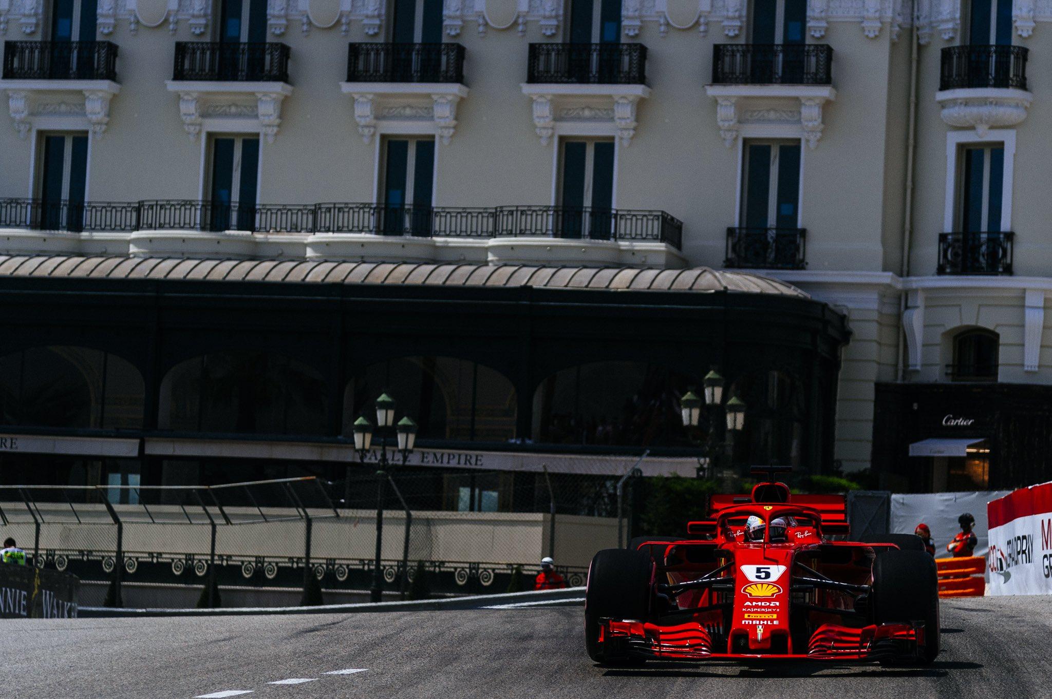 Gran Premio di Monaco, Ricciardo il più veloce nelle libere, Ferrari terza