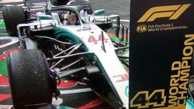 F1: Arrivabene, complimenti a Hamilton - F1