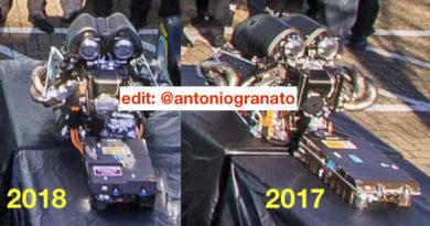 F1 La batteria della  Mercedes 2018 era più piccola