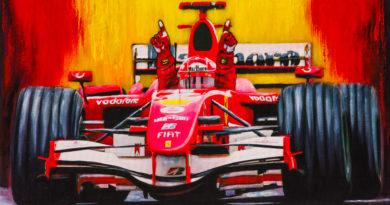 F1 | Michael Schumacher e la Ferrari visti da Filippo Di Mario
