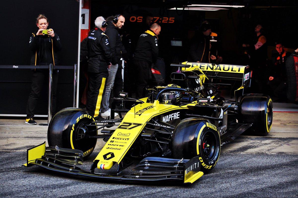 F1 test Barcellona, Ferrari: