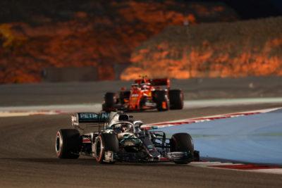 Hamilton, Leclerc, Bahrain, 2019