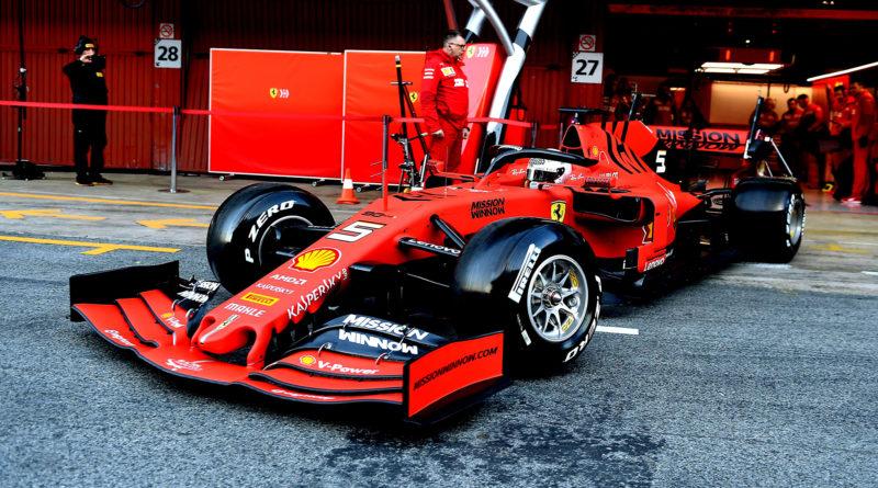 Vettel, Ferrari, 2019