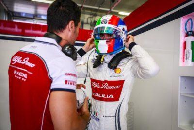 Alfa Romeo Racing: Giovinazzi soddisfatto, la rabbia di Raikkonen