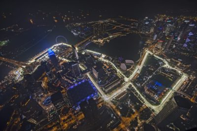 Cómo es el circuito de Singapur.