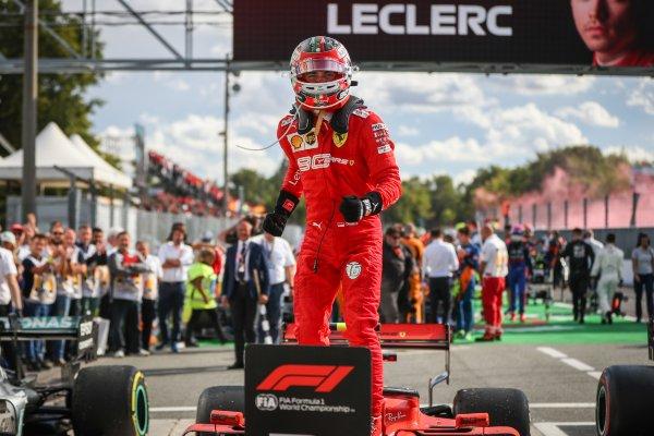 Leclerc, Monza, Italia, 2019
