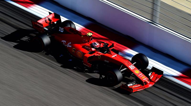 Charles Leclerc, Ferrari, Russia, Sochi, 2019