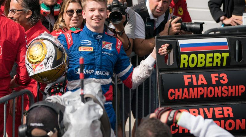 Robert Shwartzman, neo campione F3 a Sochi 2019