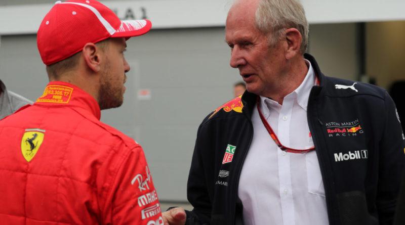 Sebastian Vettel ed Helmut Marko