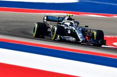 F1 | Austin: 2019, Aero Rake su Mercedes in FP1