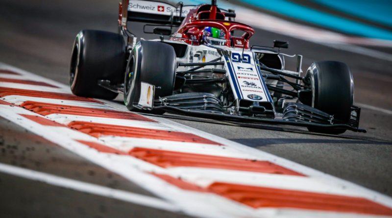F1 | 2019 Abu Dhabi Giovinazzi