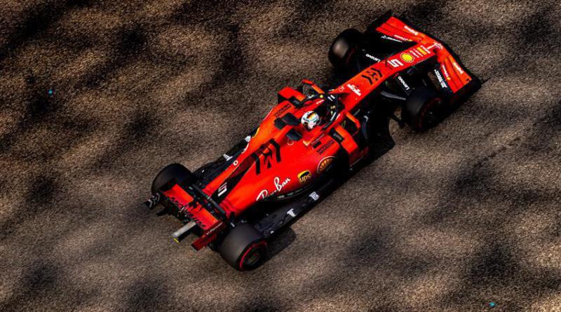 Sebastian Vettel, Ferrari, Abu Dhabi Test, 2019