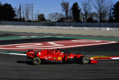 Vettel, Ferrari SF1000 Test Montmelò