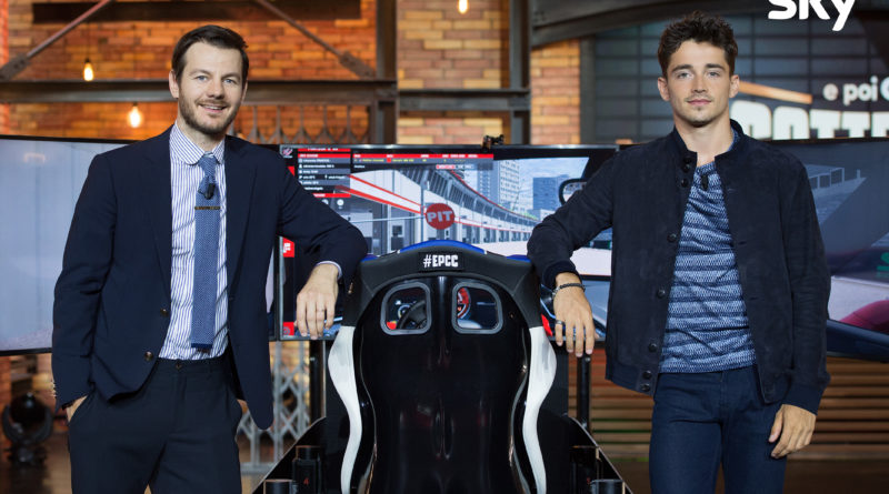 F1   Leclerc ospite di EPCC LIVE su Sky